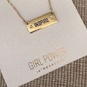 New Lc Lauren Conrad inspire tag necklace